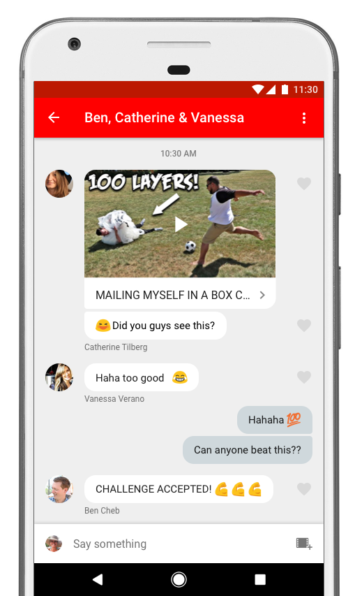 YouTube Now Lets Users Share, Chat, With New Mobile In-App
