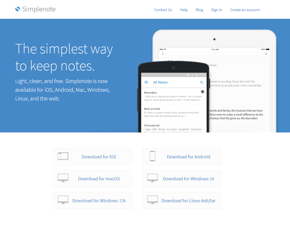 WordPress com just Released a New Note-Taking App called
