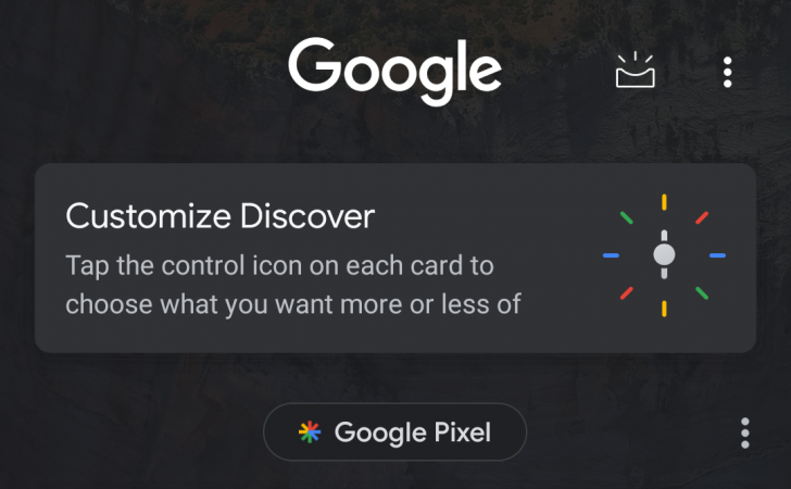 Google Starts Pushing Out its Discover Feed, Complete with a Dark