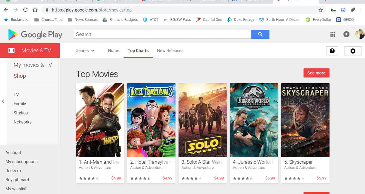 google is upgrading a ton of pre purchased movies to 4k from sd and