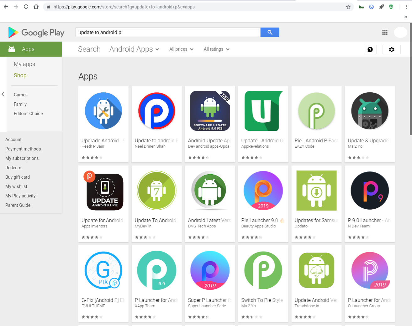 There are Actually Fake Android Phone Software Update Apps in the