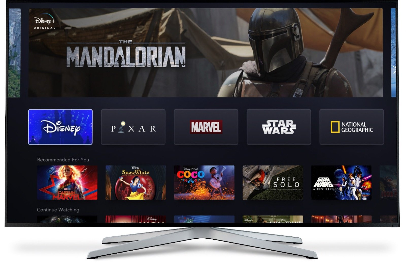 Disney+ will Stream through Apps for iOS, Android, Apple TV